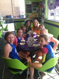 Most of our team at Yogurt Mountain